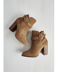 Chinese Laundry | Brown Belt Out Your Favorite Swoon Bootie | Lyst