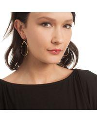 Trina Turk - Metallic Open Teardrop Earring - Lyst