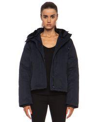 Acne Studios - Blue Powder Anorak Nylon-blend Jacket - Lyst