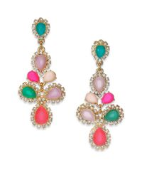 kate spade new york | Multicolor Balloon Bouquet Chandelier Earrings | Lyst