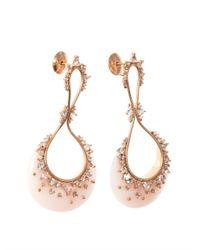 Fernando Jorge | Pink Diamond Topaz Opal Gold Earrings | Lyst
