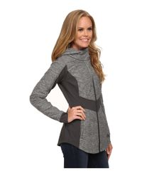 The North Face   Gray Pseudio Jacket   Lyst