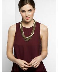 BaubleBar | Metallic Cape Rope Collar | Lyst