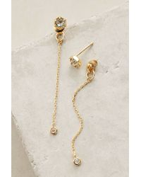 Anthropologie | Metallic Northern Flicker Earrings | Lyst