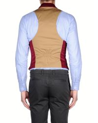 DSquared² - Natural Waistcoat for Men - Lyst
