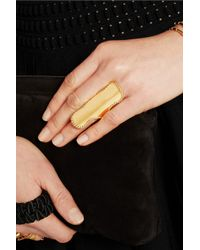 Arme De L'Amour | Metallic Gold-plated Ring | Lyst