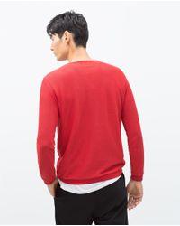 Zara | Structured Sweater for Men | Lyst