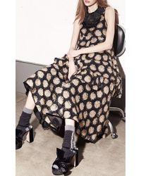 N°21 - Black Guenda Polka Dot Skirt - Lyst