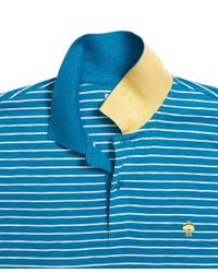 Brooks Brothers - Blue Stripe Polo Shirt for Men - Lyst