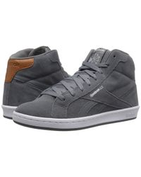 Reebok - Gray Complete Arena Mid for Men - Lyst