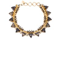 Erickson Beamon | Metallic Sacred Geometry Choker Necklace | Lyst
