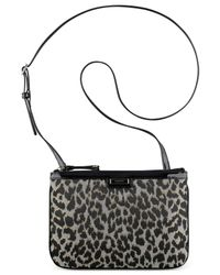 Nine West | Black Glitter Mob Mesa Crossbody | Lyst