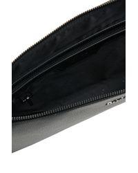 BOSS Black Leather Organiser: 'sfort' for men