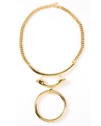 Eddie Borgo | Metallic O Ring Necklace | Lyst