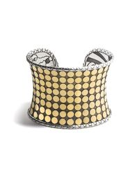 John Hardy | Metallic Dot Wide Cuff | Lyst