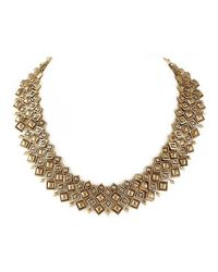 House of Harlow 1960 - Metallic Kraals Statement Necklace - Lyst
