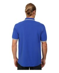 Fred Perry - Blue Twin Tipped Polo for Men - Lyst