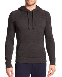 Polo Ralph Lauren   Gray Featherweight Cashmere Hoodie for Men   Lyst