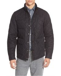 Bonobos | Black 'banff' Quilted Jacket for Men | Lyst