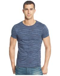 Armani Jeans | Blue Logo-print T-shirt for Men | Lyst
