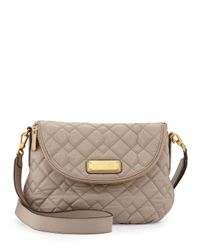 Marc By Marc Jacobs - Gray New Q Natasha Quilted Crossbody Bag - Lyst