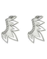 Sam Edelman - Metallic Open Tear Ear Cuff Earrings - Lyst
