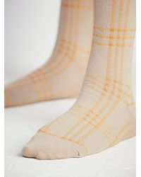 Free People | Natural Womens On The Rise Tall Sock | Lyst