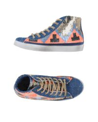 2Star | Blue High-tops & Trainers | Lyst