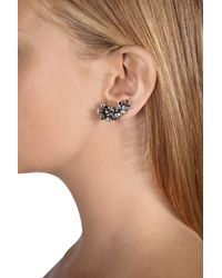 Dorothee Schumacher | Metallic Crystal Edge Ear Cuffs Small | Lyst