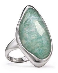 Alexis Bittar - Green Amazonite Infinity Ring - Lyst