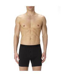Sunspel - Black Men's Superfine Cotton Two-button Short for Men - Lyst