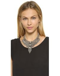 DANNIJO - Metallic Paloma Necklace - Ox Silver - Lyst