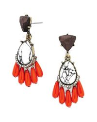 BaubleBar | Red 'orinoko' Drop Earrings | Lyst