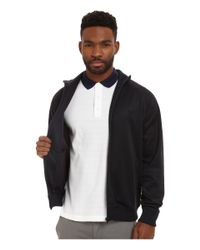Fred Perry | Blue Plain Track Jacket for Men | Lyst