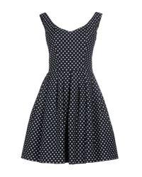 Pinko | Black Short Dress | Lyst