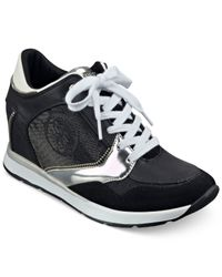 Guess | Black Liela Sneakers | Lyst