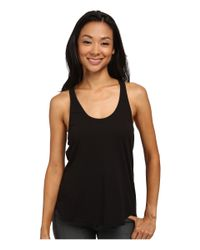 Volcom | Black Lived In Overdyed Racer Top | Lyst