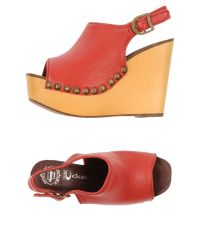 Jeffrey Campbell - Red Sandals - Lyst