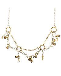 Tessa Metcalfe | Metallic Victoria Charm Necklace | Lyst