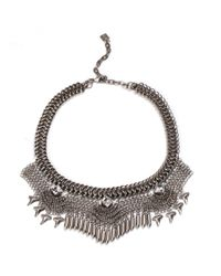 DANNIJO | Metallic Langley Necklace | Lyst