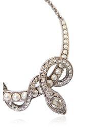 Roberto Cavalli | Metallic Embellished Snake Necklace | Lyst