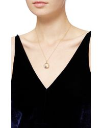 Loquet London - Metallic 14k Yellow Gold Moon, Star, And Dove Christmas Locket - Lyst
