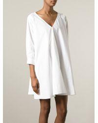 Forte Forte   White Oversized Shirt Dress   Lyst
