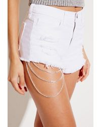Forever 21 - Metallic House Of Blaise Leg Chain - Lyst