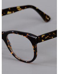 Lgr - Black Wayfarer Glasses - Lyst