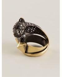 Iosselliani | Metallic 'Bohemian Dark Knight' Cheetah Ring | Lyst