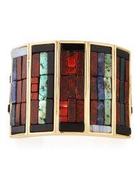 Lulu Frost | Red Petra Mosaic Cuff Bracelet | Lyst