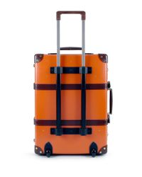 "Globe-Trotter - Centenary 21"" Trolley Case - Orange - Lyst"