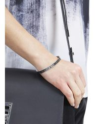 Marc By Marc Jacobs | Black Enamel Bracelet | Lyst