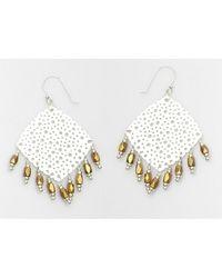 Nakamol | Multicolor Calla Earrings-gold/silver | Lyst